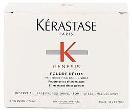 Profumi e cosmetici Polvere-detox purificante profonda per cuoio capelluto e l'ispessimento dei capelli - Kerastase Genesis Poudre Detox