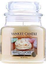 """Profumi e cosmetici Candela profumata nella banca """"Torta alla vaniglia"""" - Yankee Candle Vanilla Cupcake"""
