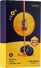 Profumi e cosmetici Maschera nutriente da notte, con mirtilli e miele - Frudia Blueberry Honey Overnight Mask
