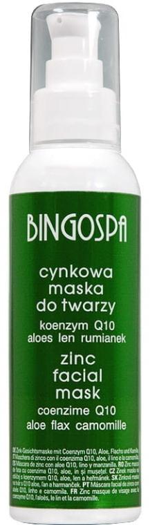 Maschera in zinco con aloe, lino e camomilla - BingoSpa