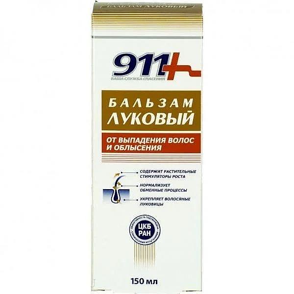 Balsamo alla cipolla per la caduta dei capelli e la calvizie - 911