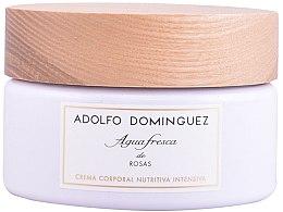 Profumi e cosmetici Adolfo Dominguez Agua Fresca De Rosas - Crema corpo