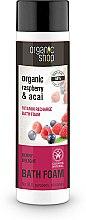 "Profumi e cosmetici Bagnoschiuma ""Delizia di bacche"" - Organic Shop Organic Acai and Raspberry Berry Bath Foam"