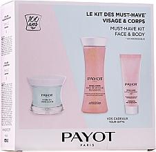 Profumi e cosmetici Set - Payot Hydra 24+ Must-Have Kit Face & Body (cr/50ml + sh/oil/125ml + b/lot/25ml)