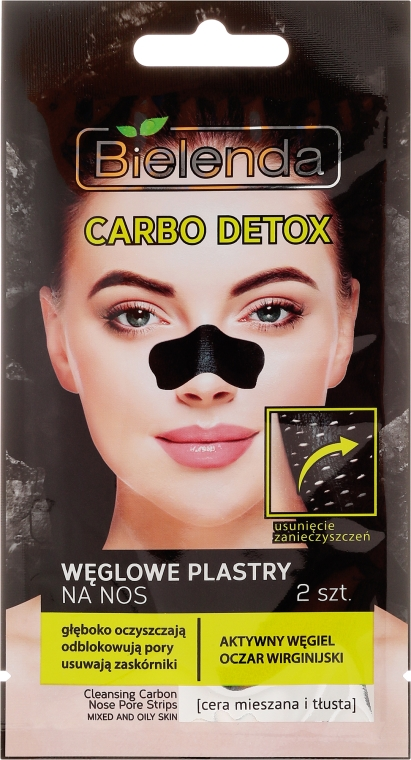 Patch naso al carbone - Bielenda Carbo Detox