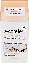 Profumi e cosmetici Deodorante-stick - Acorelle Deodorant Stick Gel Almond Blossom