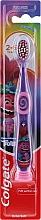 Profumi e cosmetici Spazzolino da denti per bambini, 2-6 anni, viola-rosa - Colgate Smiles Kids Extra Soft