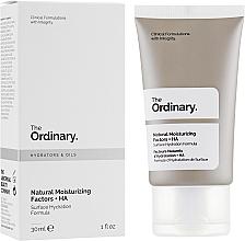 Profumi e cosmetici Lozione viso con fattori idratanti naturali - The Ordinary Natural Moisturizing Factors + HA