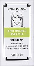 Profumi e cosmetici Patch per il trattamento dell'acne - Missha Speedy Solution Anti Trouble