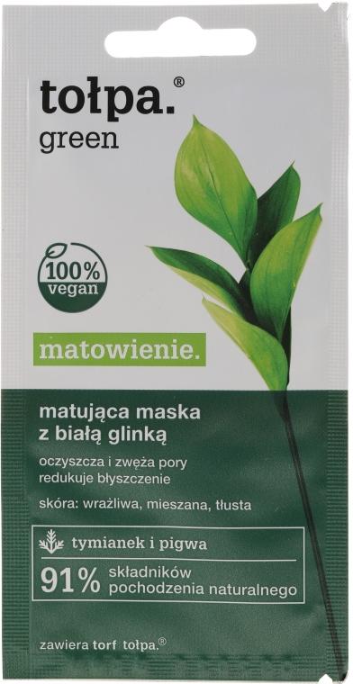 Maschera viso opacizzante - Tolpa Green Mask