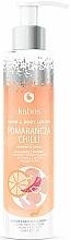 """Profumi e cosmetici Balsamo mani e corpo """"Arancia con peperoncino"""" - Kabos Wild Orange & Chilli Hand & Body Lotion"""