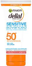 Profumi e cosmetici Crema solare ultrafine SPF50 - Garnier Ambre Solaire Sensitive Sun Cream SPF50+