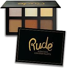 Profumi e cosmetici Palette per contouring - Rude Audacious Contouring Palette