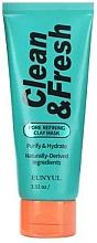 Profumi e cosmetici Maschera all'argilla per la pulizia dei pori - Eunyul Clean & Fresh Pore Refining Clay Mask