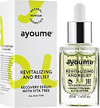 Profumi e cosmetici Siero viso vitaminico - Ayoume Vita Tree Recovery Serum