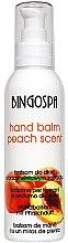 Profumi e cosmetici Balsamo mani con estratto di pesca - BingoSpa