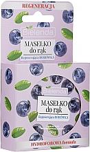 Profumi e cosmetici Olio mani al mirtillo - Bielenda Hand Butter Regenerating Blueberry