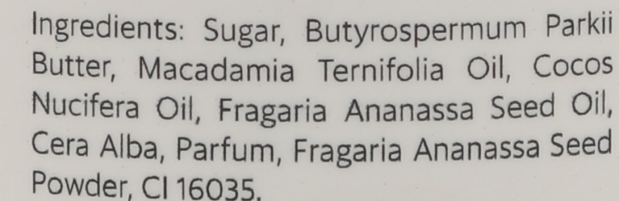 "Scrub corpo allo zucchero ""Fragola"" - Maudi — foto N3"
