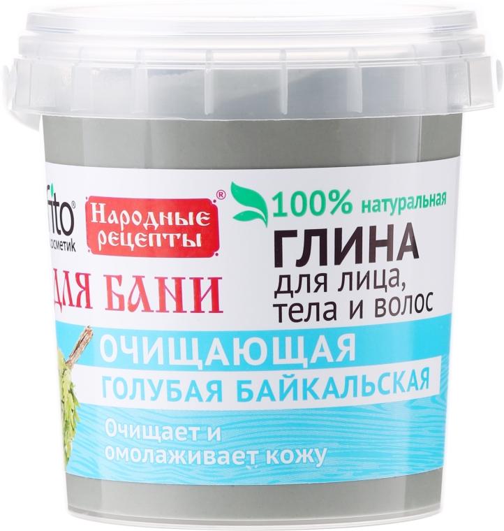 Argilla blu di Baikal per viso, corpo e capelli - Fito cosmetica