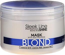Profumi e cosmetici Maschera per capelli - Stapiz Sleek Line Blond Hair Mask