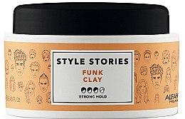 Profumi e cosmetici Pomata per lo styling, fissazione forte - Alfaparf Style Stories Funk Clay Strong Hold