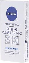 Profumi e cosmetici Strisce morbide per la pulizia - Nivea Visage Clear Up Strips