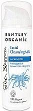 Profumi e cosmetici Latte detergente viso - Bentley Organic Skin Blossom Facial Cleansing Milk