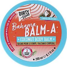 Profumi e cosmetici Balsamo corpo al cocco - Dirty Works Bahama Balm-A Coconut Body Balm