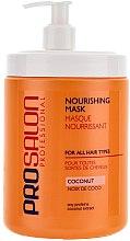 """Profumi e cosmetici Maschera nutriente """"Cocco"""" - Prosalon Hair Care Mask"""