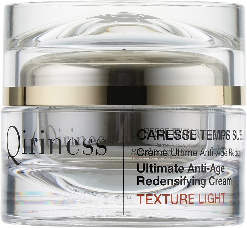 Crema Ultime Anti-Età Ridensificante - Qiriness Caresse Temps Sublime Light — foto N2