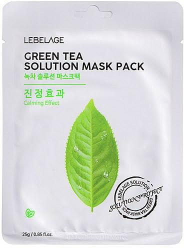 Maschera viso in tessuto - Lebelage Green Tea Solution Mask