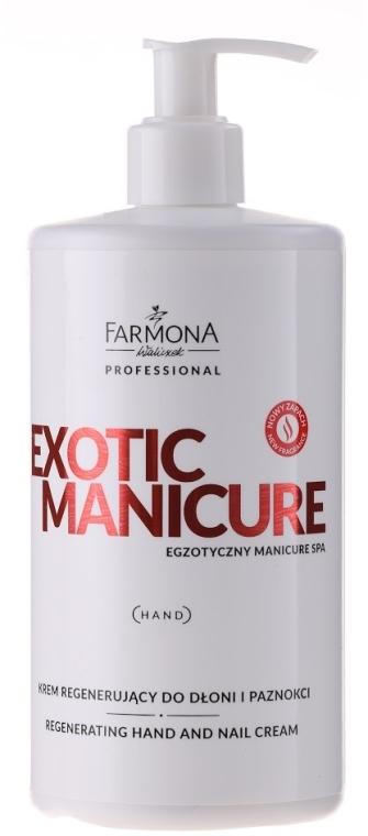 Crema mani e unghie rigenerante - Farmona Exotic Manicure SPA