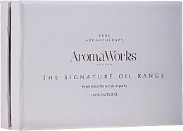 Profumi e cosmetici Set - AromaWorks Signature Oil Range (oil/4x10ml)