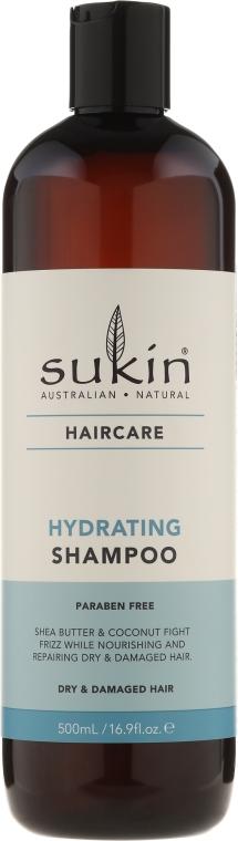 Shampoo idratante per capelli secchi e danneggiati - Sukin Hydrating Shampoo