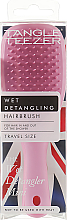 Profumi e cosmetici Spazzola per capelli - Tangle Teezer The Wet Detangler Mini Baby Pink Sparkle