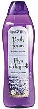 """Profumi e cosmetici Bagnoschiuma """"Lavanda e aloe"""" - Bluxcosmetics Naturaphy Lavender & Aloe Vera Bath Foam"""
