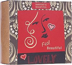 Profumi e cosmetici Set - Bath House Barefoot & Beautiful (f/mask/15g + bath salt/60ml + lip balm/15g)