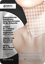 Profumi e cosmetici Maschera collo rigenerante a base di biocellulosa - Timeless Truth Mask Firming Bio Cellulose Neck Mask