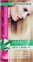 Profumi e cosmetici Shampoo colorante con aloe e cheratina - Marion Color Shampoo With Aloe
