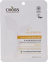 Profumi e cosmetici Maschera viso al limone - Chobs Lemon Mask Pack