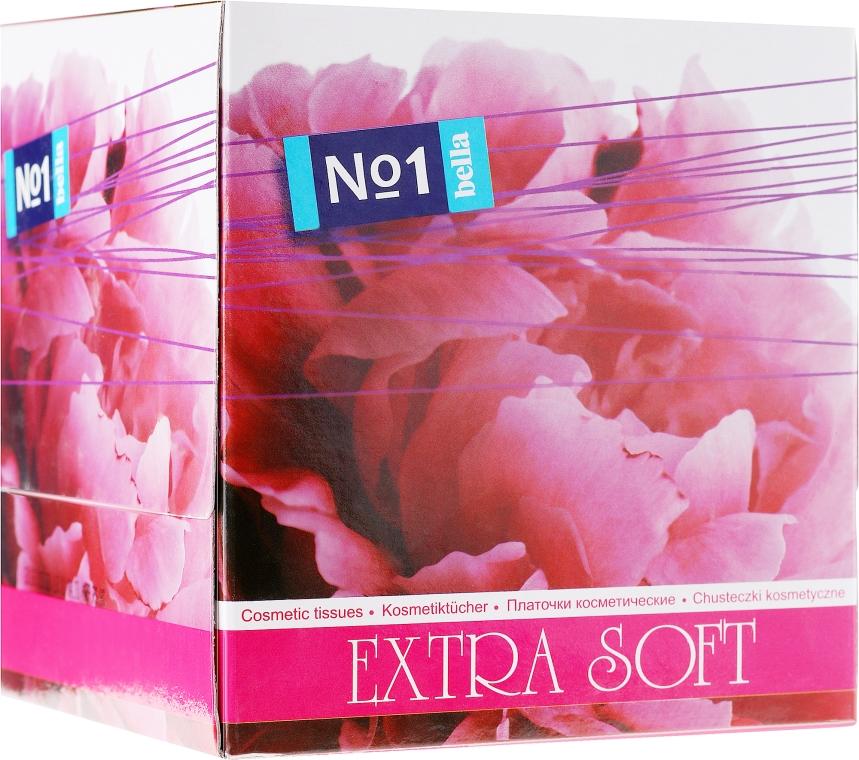 """Salviette cosmetiche doppio strato """"EXTRA SOFT"""", 80 pz - Bella — foto N1"""