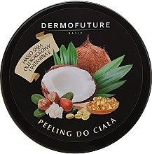 Profumi e cosmetici Scrub corpo allo zucchero con burro di karité e cocco - DermoFuture Sugar Body Scrub
