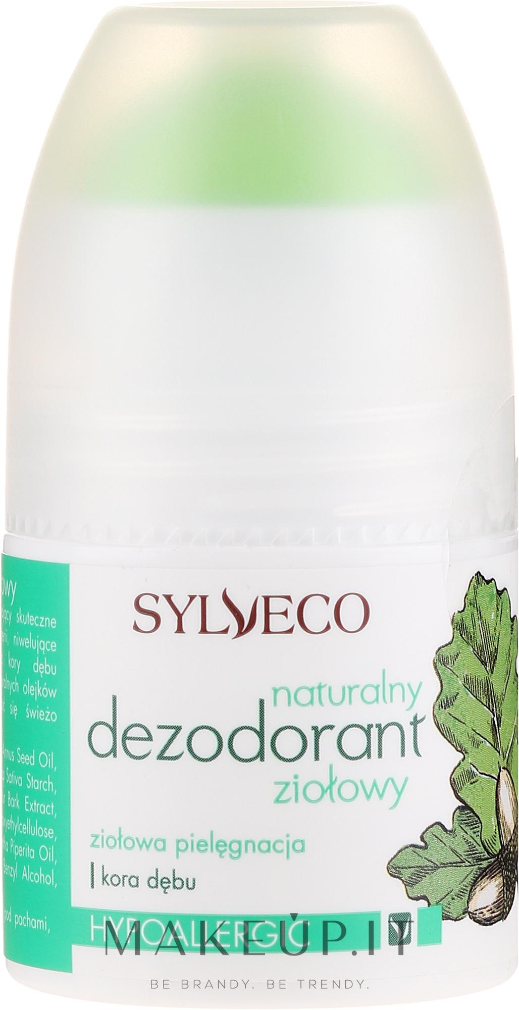 Deodorante alle erbe naturali - Sylveco — foto 50 ml