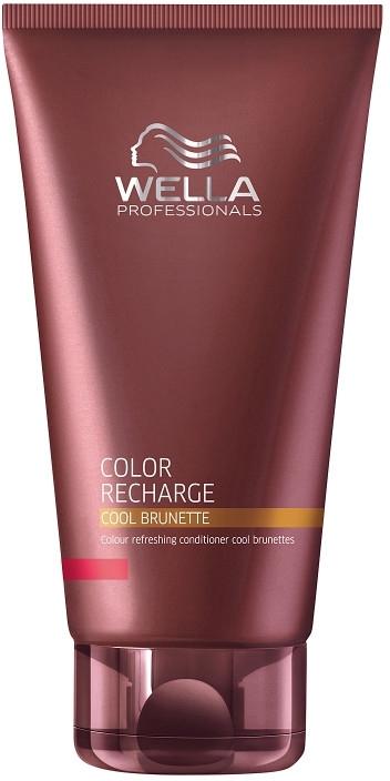 Balsamo mantenimento del colore marrone - Wella Professionals Color Recharge Cool Brunette — foto N1