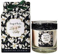 "Profumi e cosmetici Candela profumata in barattolo di vetro ""Mughetto"" - Song of India Lily of the Valley Candle"