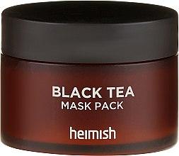 Maschera lenitiva per il viso - Heimish Black Tea Mask Pack — foto N2