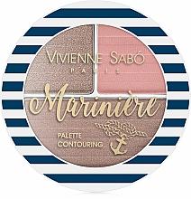 Profumi e cosmetici Palette per sculpting - Vivienne Sabo Mariniere Palette Contouring