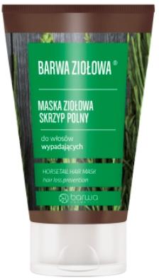 Maschera per capelli a base di erbe di equiseto - Barwa Color Herbal Mask