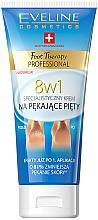 Profumi e cosmetici Crema per talloni screpolati 8 in 1 - Eveline Cosmetics Foot Therapy Professional