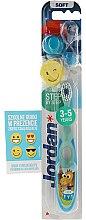 3-Spazzolino da denti per bambini Step 2 (5) morbido, verde, smile - Jordan — foto N1